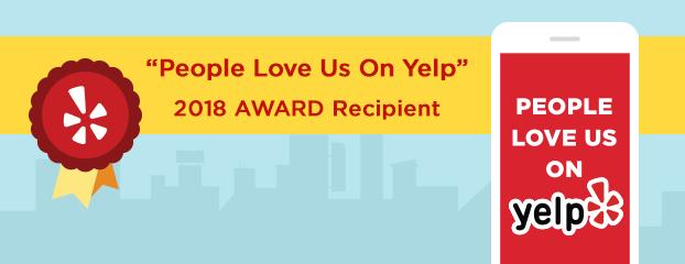 2018 yelp award